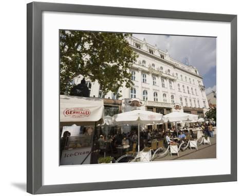 Cafe Gerbeaud, Budapest, Hungary, Europe-Jean Brooks-Framed Art Print