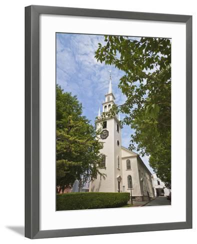Trinity Church Dating from 1726-Robert Francis-Framed Art Print