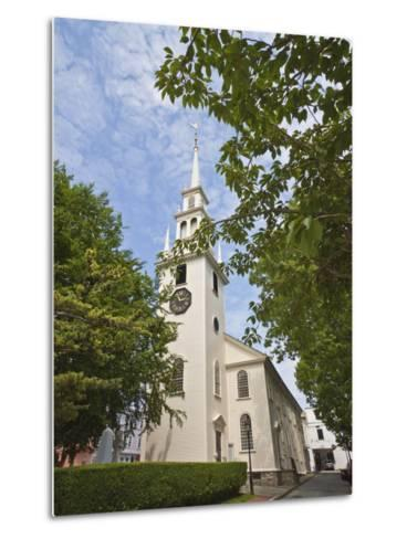 Trinity Church Dating from 1726-Robert Francis-Metal Print