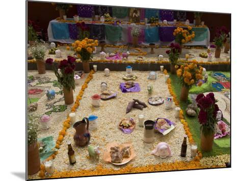 Decorations for the Day of the Dead Festival, Plaza Principal, San Miguel De Allende, Guanajuato-Richard Maschmeyer-Mounted Photographic Print