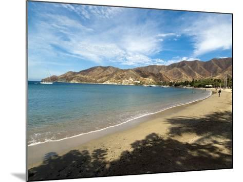 Beach at Taganga, Colombia, South America-Ethel Davies-Mounted Photographic Print