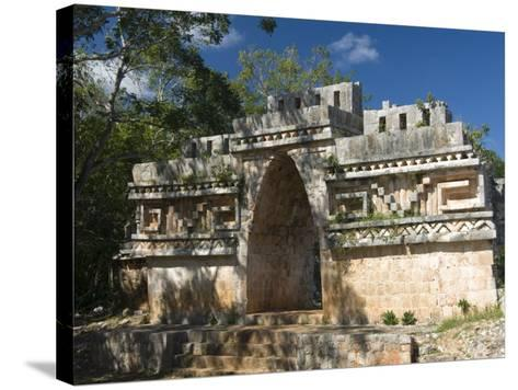 El Arco, Labna, Yucatan, Mexico, North America-Richard Maschmeyer-Stretched Canvas Print
