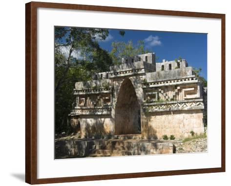 El Arco, Labna, Yucatan, Mexico, North America-Richard Maschmeyer-Framed Art Print