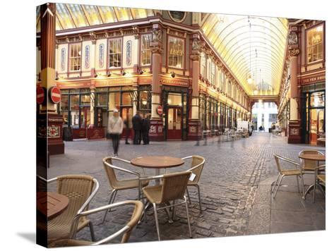 Leadenhall Market, City of London, London, England, United Kingdom, Europe-Vincenzo Lombardo-Stretched Canvas Print
