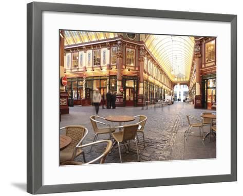 Leadenhall Market, City of London, London, England, United Kingdom, Europe-Vincenzo Lombardo-Framed Art Print