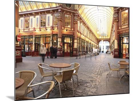 Leadenhall Market, City of London, London, England, United Kingdom, Europe-Vincenzo Lombardo-Mounted Photographic Print