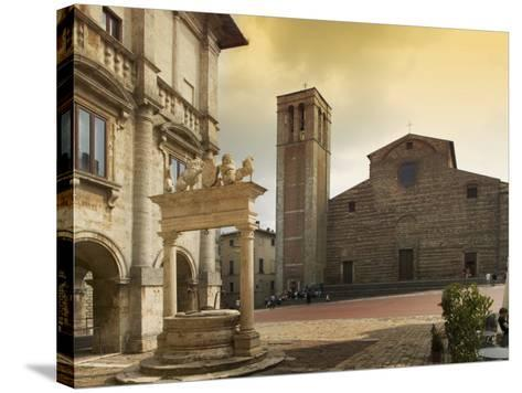 Montepulciano, Tuscany, Italy, Europe-Angelo Cavalli-Stretched Canvas Print