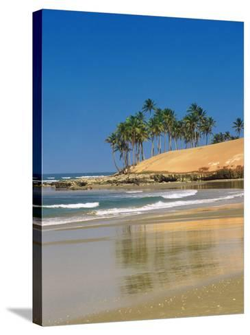 Beach in Fortaleza, Ceara, Brazil, South America-Sakis Papadopoulos-Stretched Canvas Print