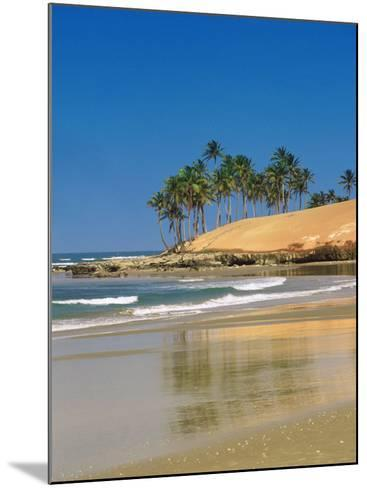 Beach in Fortaleza, Ceara, Brazil, South America-Sakis Papadopoulos-Mounted Photographic Print
