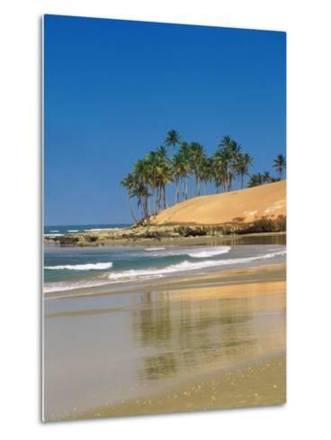 Beach in Fortaleza, Ceara, Brazil, South America-Sakis Papadopoulos-Metal Print
