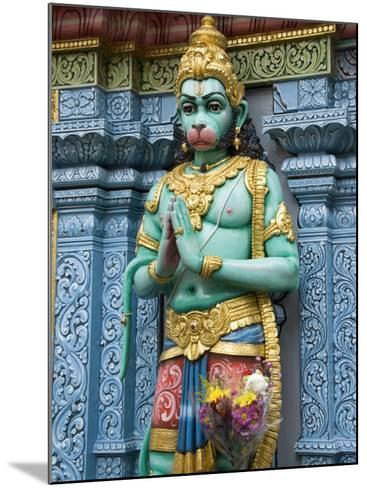 Exterior Statue of the Hindu Monkey God Hanuman, Sri Krishna Bagawan Temple, Singapore-Richard Maschmeyer-Mounted Photographic Print