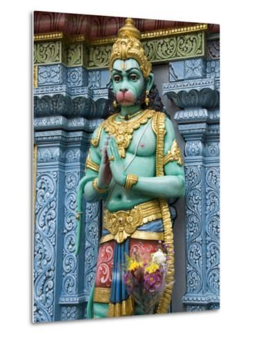 Exterior Statue of the Hindu Monkey God Hanuman, Sri Krishna Bagawan Temple, Singapore-Richard Maschmeyer-Metal Print