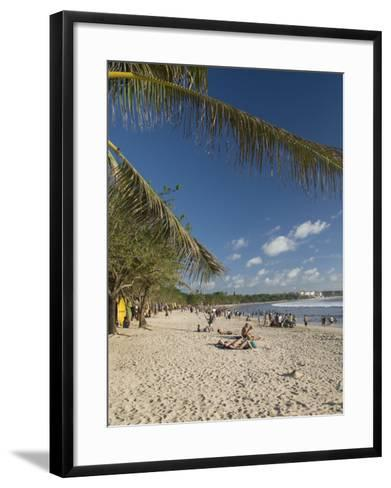 Kuta Beach, Bali, Indonesia, Southeast Asia, Asia-Richard Maschmeyer-Framed Art Print