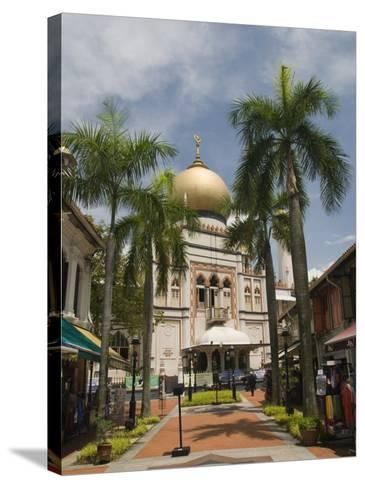 The Sultan Mosque, Little India, Singapore, Southeast Asia, Asia-Richard Maschmeyer-Stretched Canvas Print