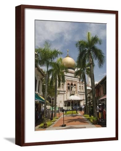 The Sultan Mosque, Little India, Singapore, Southeast Asia, Asia-Richard Maschmeyer-Framed Art Print
