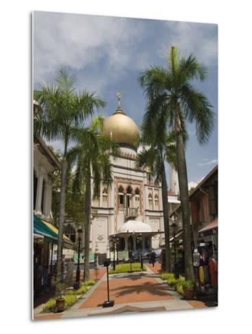 The Sultan Mosque, Little India, Singapore, Southeast Asia, Asia-Richard Maschmeyer-Metal Print