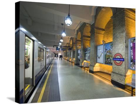 Gloucester Road Tube Station, London, England, United Kingdom, Europe-Ethel Davies-Stretched Canvas Print
