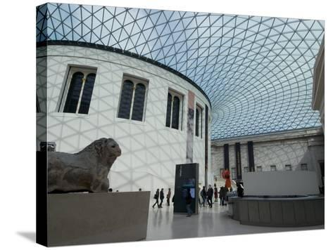 Great Court, British Museum, London Wc1, England, United Kingdom, Europe-Ethel Davies-Stretched Canvas Print