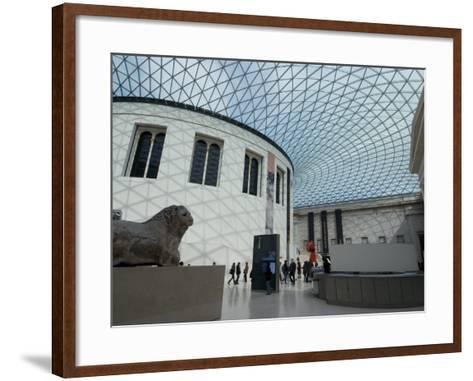 Great Court, British Museum, London Wc1, England, United Kingdom, Europe-Ethel Davies-Framed Art Print