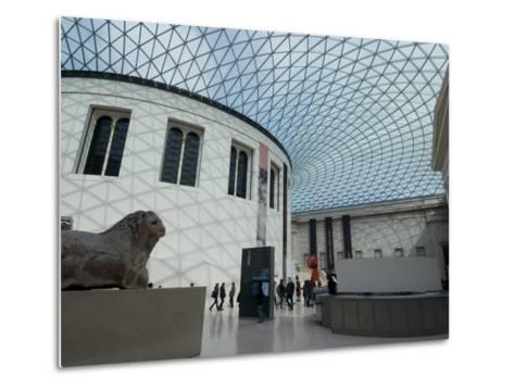 Great Court, British Museum, London Wc1, England, United Kingdom, Europe-Ethel Davies-Metal Print