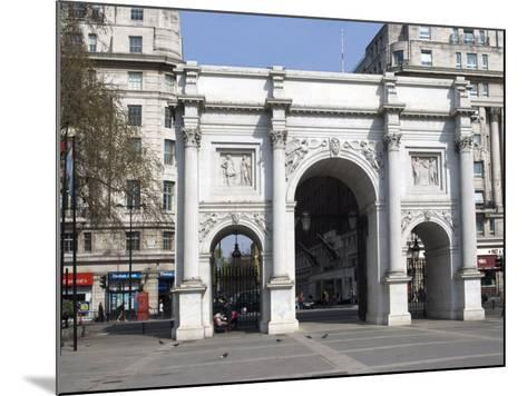 Marble Arch and Oxford Street, London, England, United Kingdom, Europe-Ethel Davies-Mounted Photographic Print