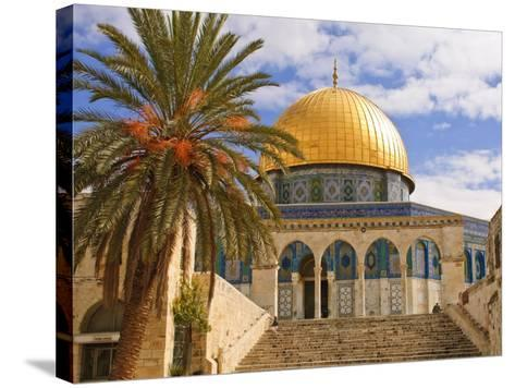 Dome of the Rock, Jerusalem, Israel, Middle East-Michael DeFreitas-Stretched Canvas Print