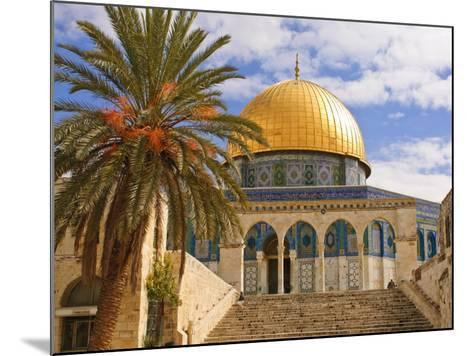 Dome of the Rock, Jerusalem, Israel, Middle East-Michael DeFreitas-Mounted Photographic Print