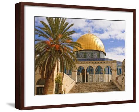 Dome of the Rock, Jerusalem, Israel, Middle East-Michael DeFreitas-Framed Art Print