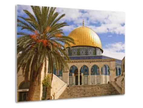 Dome of the Rock, Jerusalem, Israel, Middle East-Michael DeFreitas-Metal Print