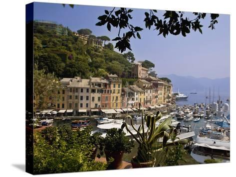Portofino, Liguria, Italy, Europe-Angelo Cavalli-Stretched Canvas Print