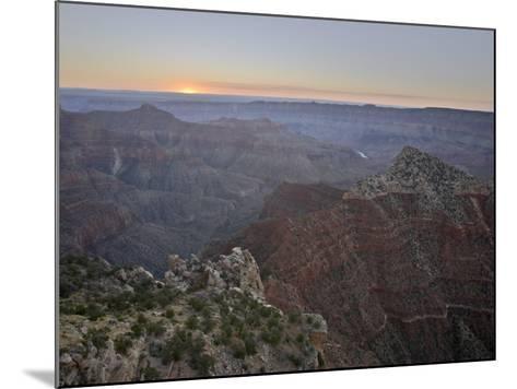Sunrise at Cape Royal, North Rim, Grand Canyon National Park, Arizona-James Hager-Mounted Photographic Print