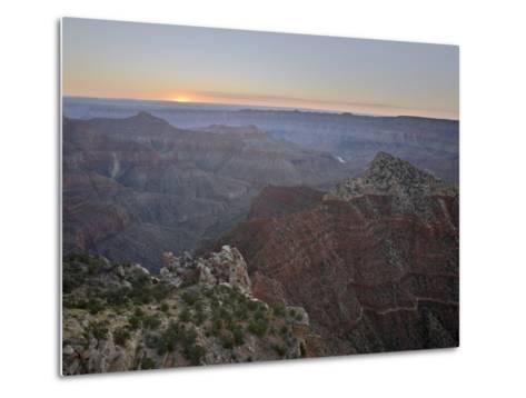 Sunrise at Cape Royal, North Rim, Grand Canyon National Park, Arizona-James Hager-Metal Print