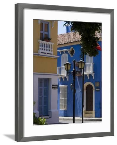 The Walled City, Cartagena, Colombia-Ethel Davies-Framed Art Print