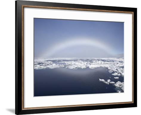 Anthelion, Svalbard Islands, Arctic, Norway, Europe-James Hager-Framed Art Print