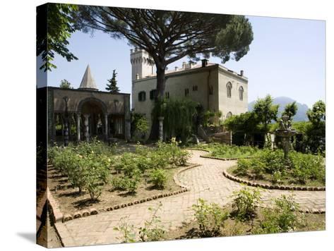 Villa Cimbrone, Ravello, Campania, Italy, Europe-Oliviero Olivieri-Stretched Canvas Print
