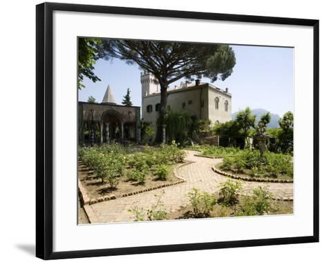 Villa Cimbrone, Ravello, Campania, Italy, Europe-Oliviero Olivieri-Framed Art Print