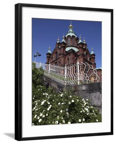 Uspenski Cathedral, Helsinki, Finland, Scandinavia, Europe-Dallas & John Heaton-Framed Art Print