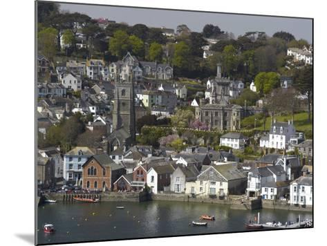 View from Penleath Point, Fowey, Cornwall, England, United Kingdom, Europe-Rob Cousins-Mounted Photographic Print