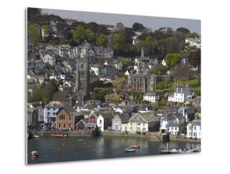 View from Penleath Point, Fowey, Cornwall, England, United Kingdom, Europe-Rob Cousins-Metal Print