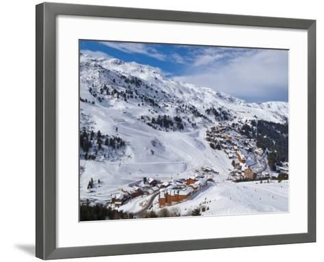Meribel-Mottaret, 1750M, Ski Area, Meribel, Three Valleys, Savoie, French Alps-Gavin Hellier-Framed Art Print
