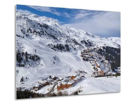 Meribel-Mottaret, 1750M, Ski Area, Meribel, Three Valleys, Savoie, French Alps-Gavin Hellier-Metal Print