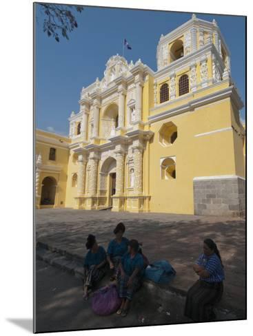 La Merced Church, Antigua, UNESCO World Heritage Site, Guatemala, Central America-Sergio Pitamitz-Mounted Photographic Print