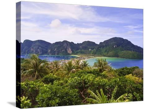 Ko Phi Phi Island, Andaman Sea, Thailand, Southeast Asia, Asia-Nico Tondini-Stretched Canvas Print