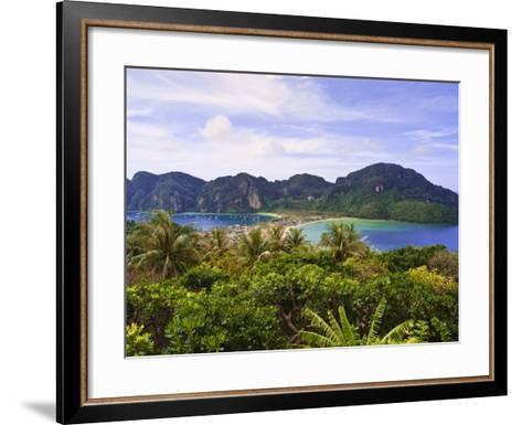 Ko Phi Phi Island, Andaman Sea, Thailand, Southeast Asia, Asia-Nico Tondini-Framed Art Print