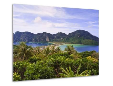 Ko Phi Phi Island, Andaman Sea, Thailand, Southeast Asia, Asia-Nico Tondini-Metal Print