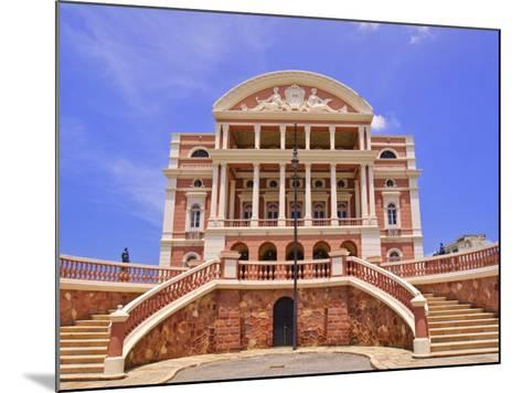 Opera House, Manaus, Amazonas, Brazil, South America-Nico Tondini-Mounted Photographic Print