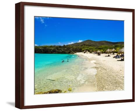 Grote Knip Beach, Curacao, Netherlands Antilles, West Indies, Caribbean, Central America-Michael DeFreitas-Framed Art Print