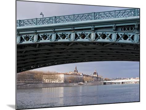 Pont De L'Universite, River Rhone, Lyon, Rhone Valley, France, Europe-Nico Tondini-Mounted Photographic Print
