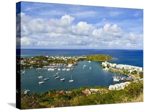 Oyster Pond, St. Martin, Netherlands Antilles, Caribbean-Michael DeFreitas-Stretched Canvas Print