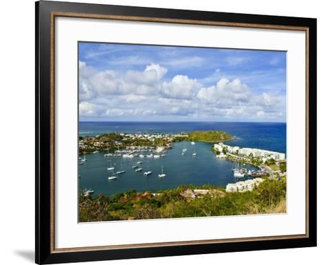 Oyster Pond, St. Martin, Netherlands Antilles, Caribbean-Michael DeFreitas-Framed Art Print